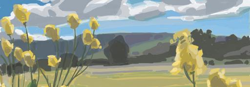 iPad Painting Workshop at Rancho La Zaca