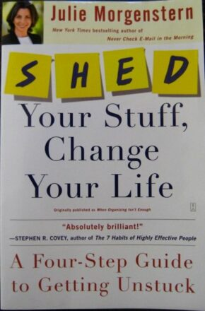 SHED book cover