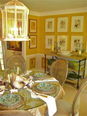 Bee dining room