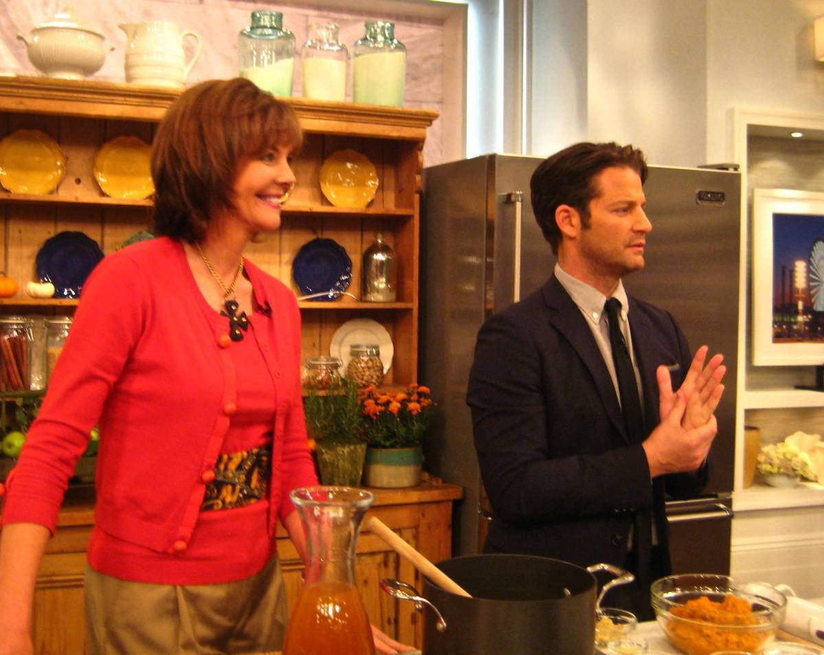 Frances and Nate Berkus Invite you for Drinks