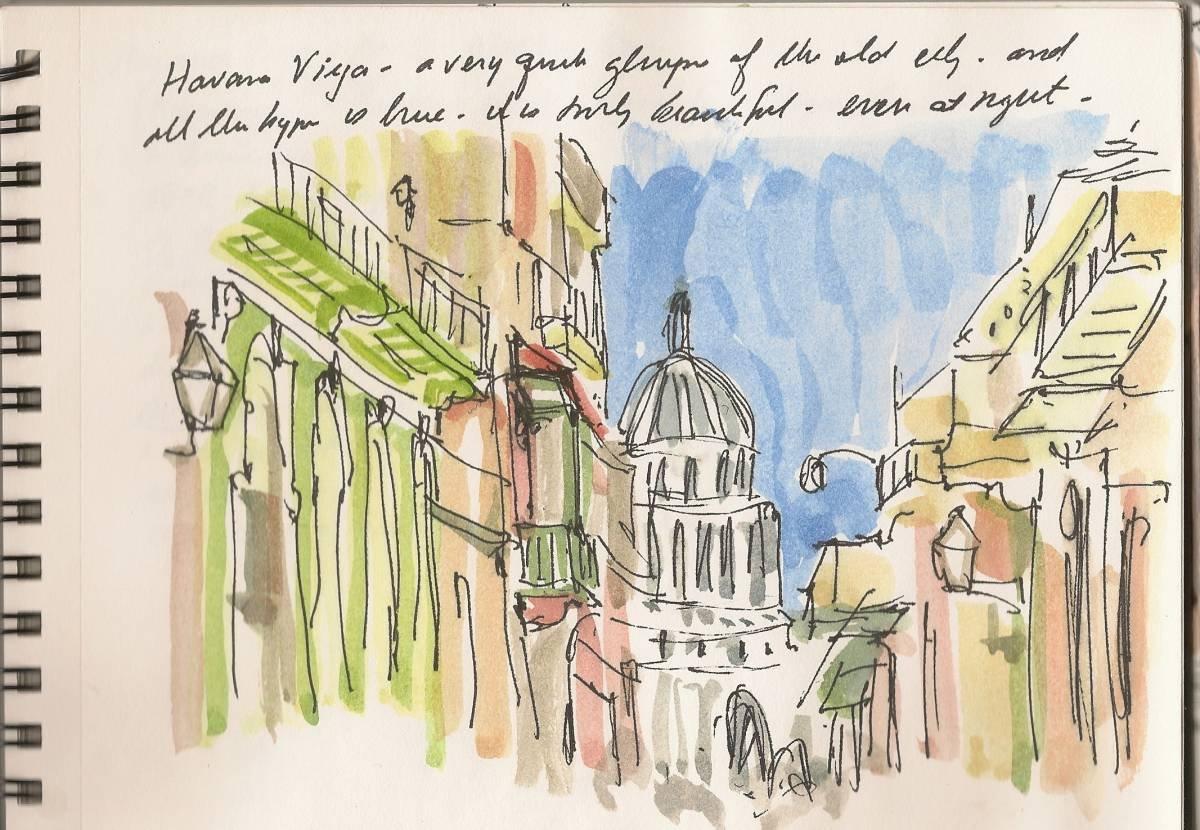 (Last) Postcard From Havana-Part 4: Sketchbook