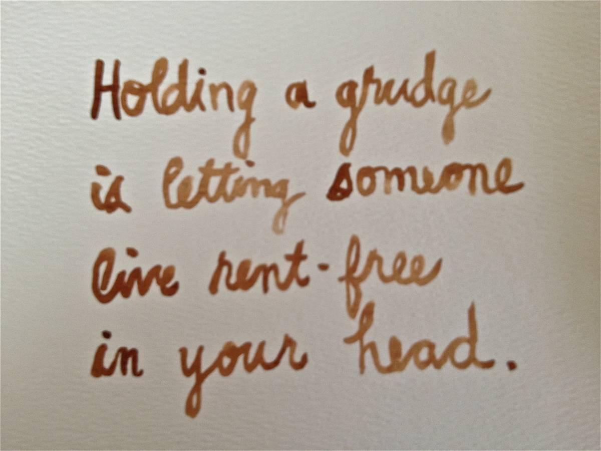 One Little Thing: Holding a Grudge