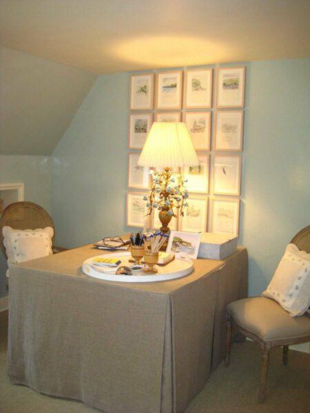 Bee Cottage desk