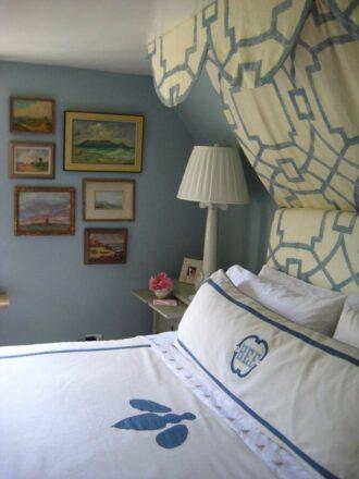 Bee Cottage master bedroom