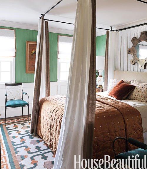 Bridgehampton bedroom by Jean Louis Deniot