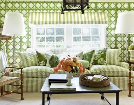 Great-Looking Green Rooms