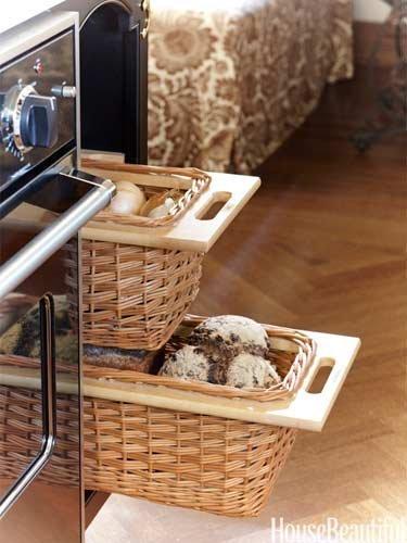 Nicole Hough kitchen-bread basket