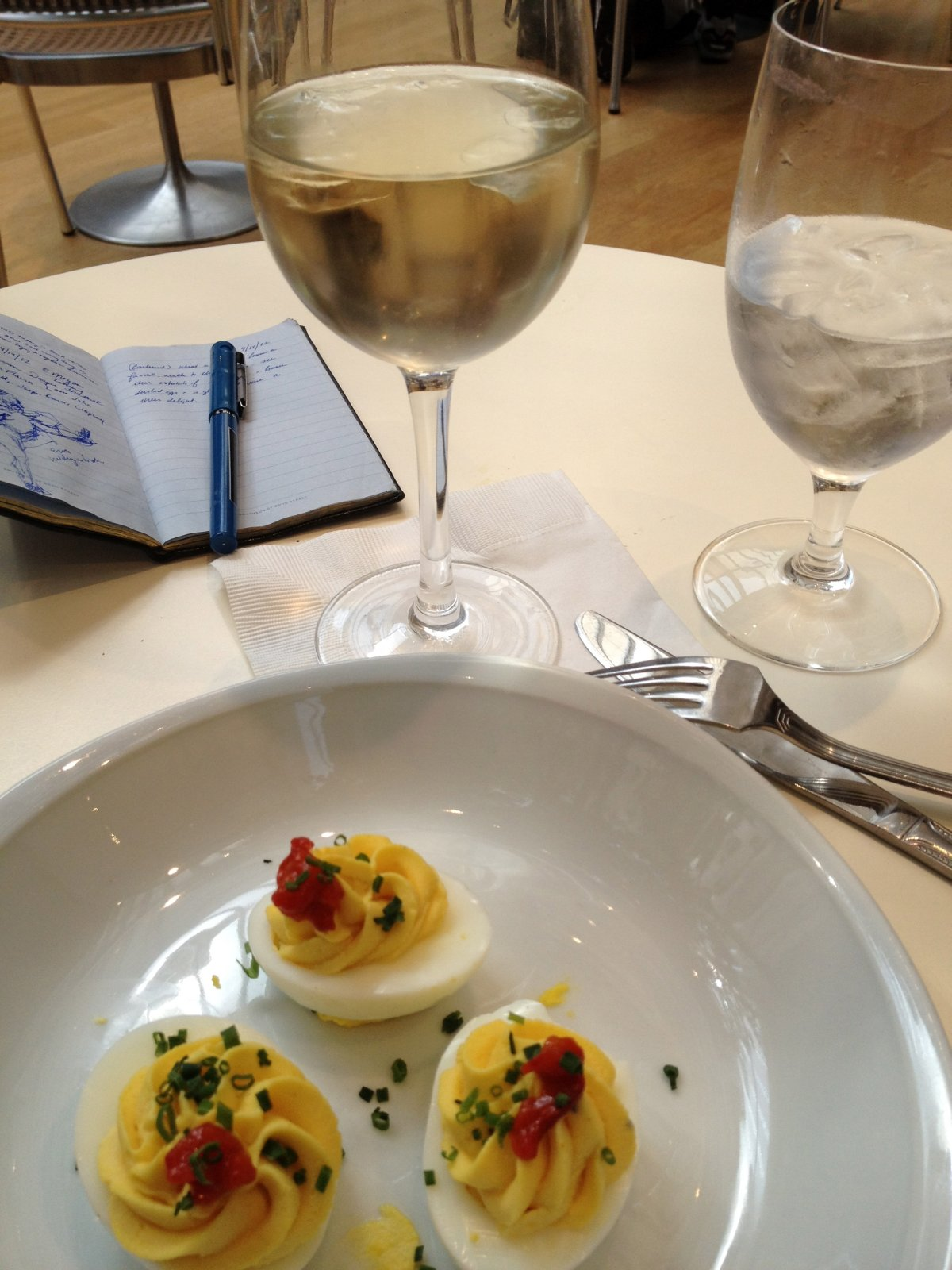 Deviled Eggs for Lunch