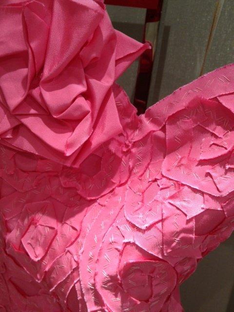 Detail from Naeem Khan dress