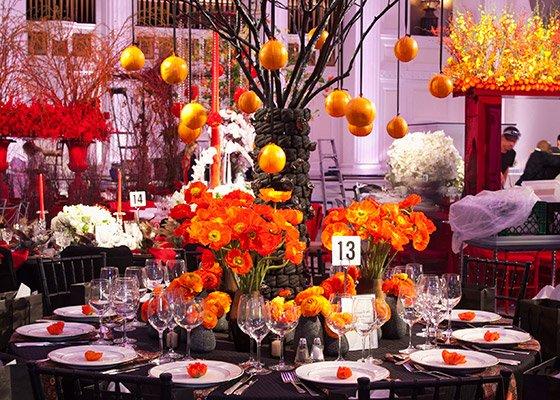 New York Flower Show tabletop