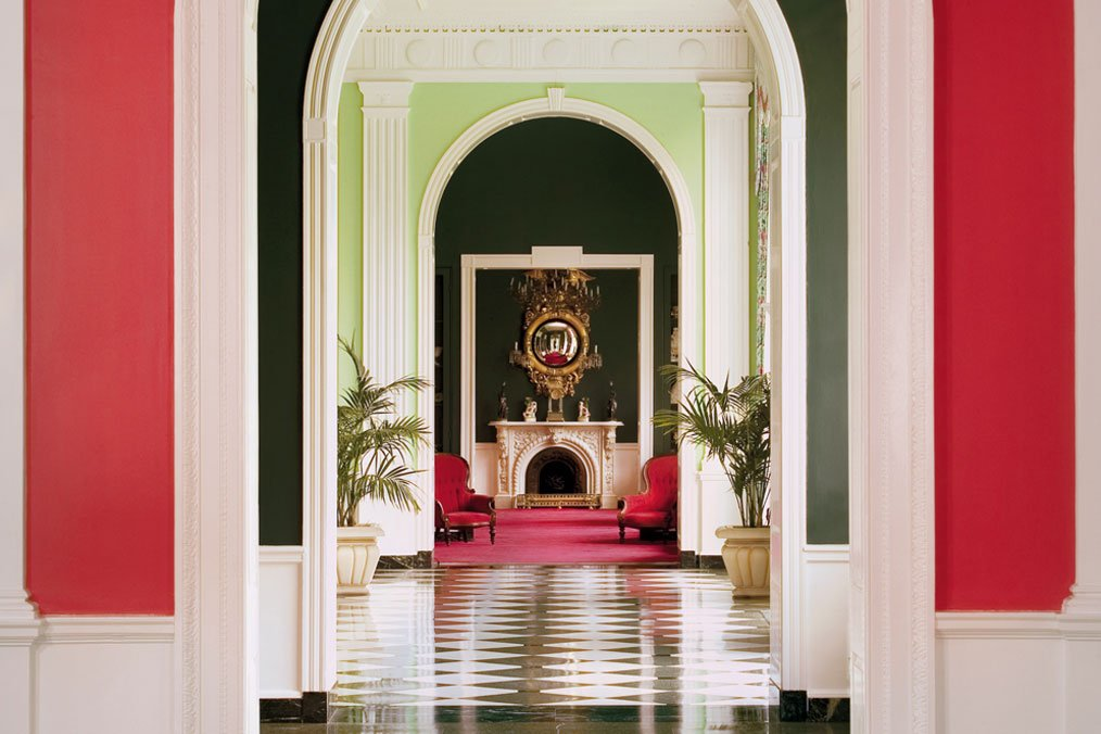 Fabulous Rooms #2: Victorian Writing Room at the Greenbrier