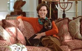 Carolyne Roehm at home