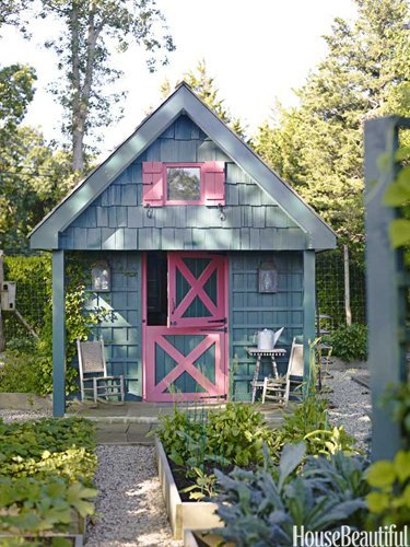 Podge garden shed
