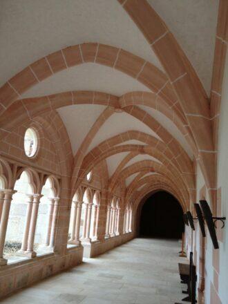 Cloister at Cistercian Abbey