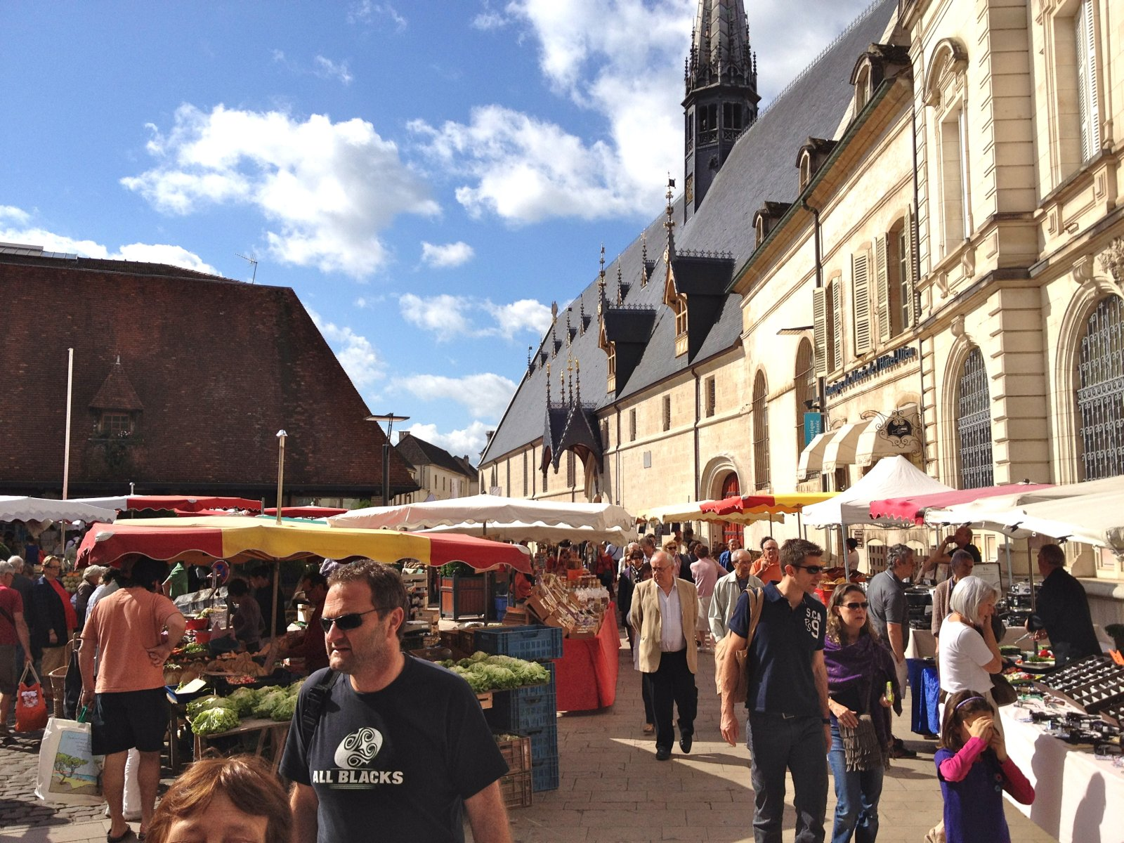 Postcard From Burgundy - Part 4 - Market Day