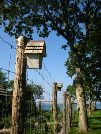 Podge garden fence