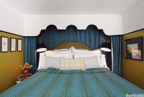 Brockschmidt loft, bedroom, House Beautiful