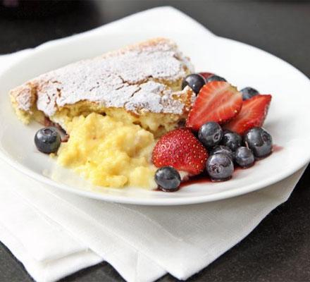 Luscious (and Easy) Lemon Pudding Cake