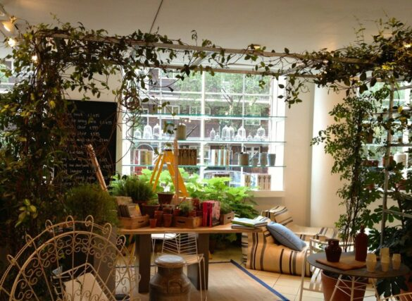 The garden shop at Conran's