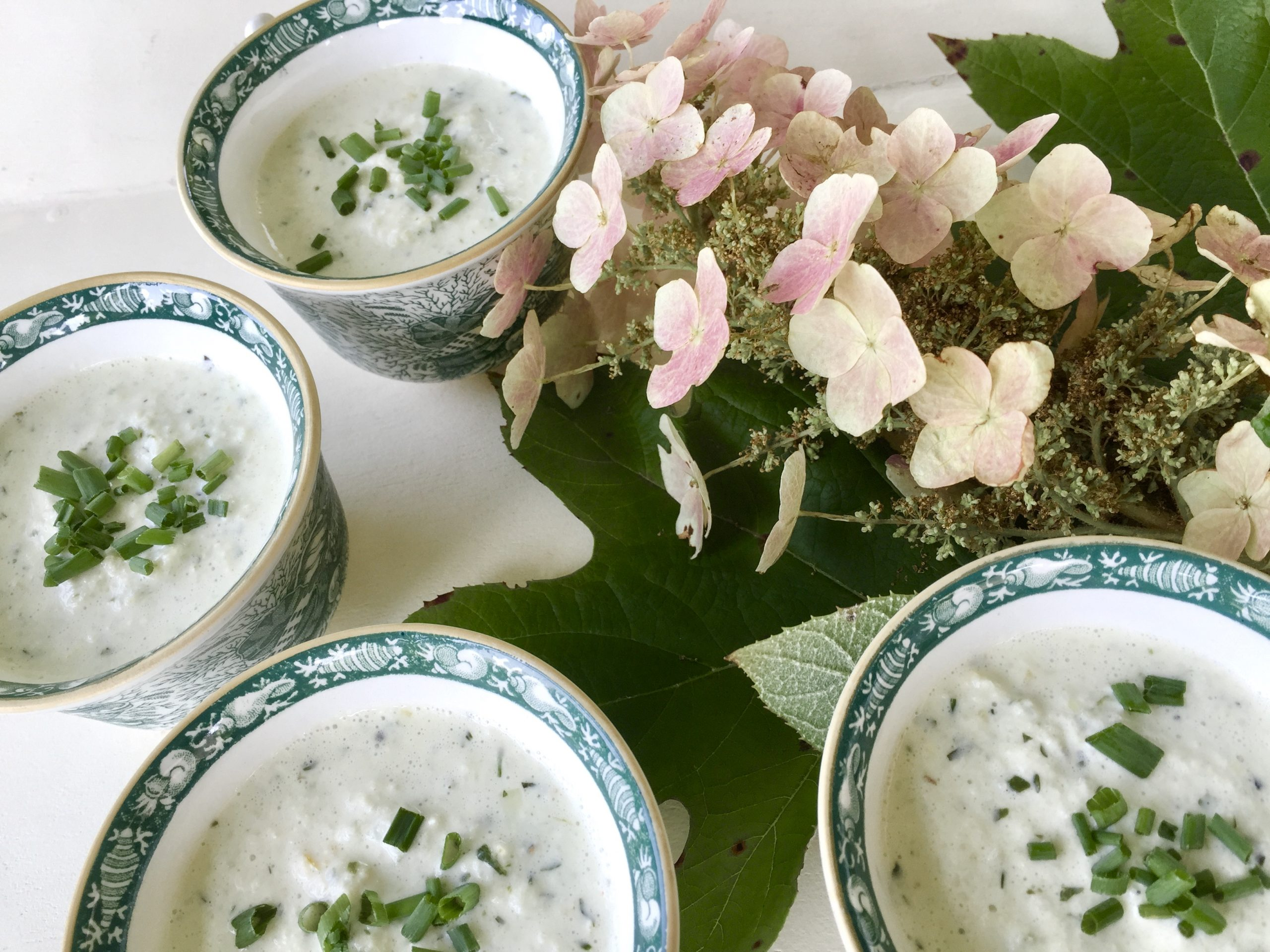 Frances and Cucumber Soup