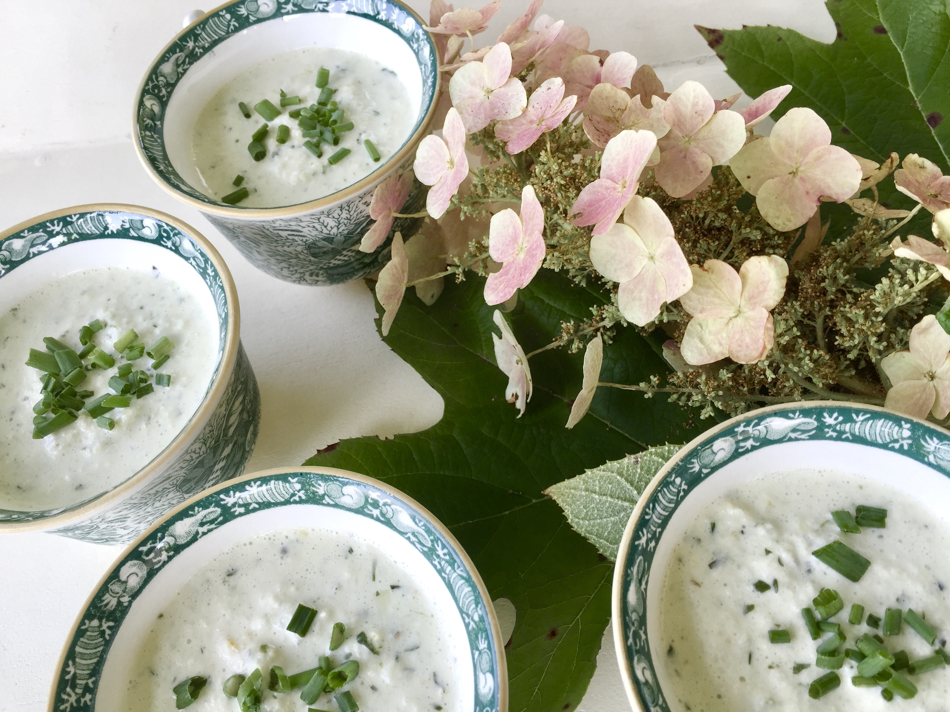 Cucumber Soup to Cool Summer's Sizzle