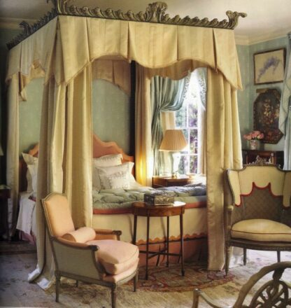 Richard Keith Langham - bedroom in Mississippi