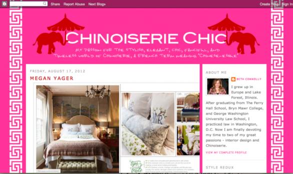Chinoiserie Chic screen shot