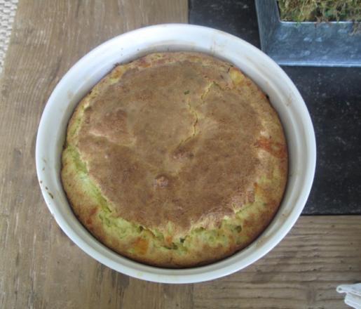 Nina Griscom cheese souffle