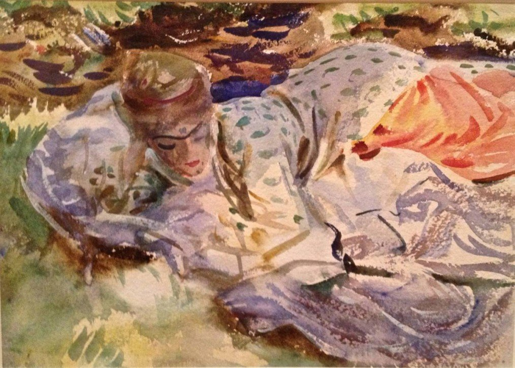 Sargent Watercolors at Brooklyn Museum. Sublime.