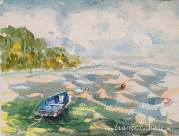Wine, Women, and Watercolors (and Roberto!) - Painting in Italy - Part 2