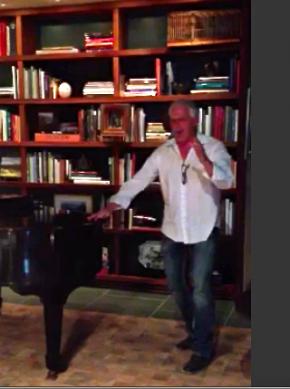 Patrick Cassidy at RLZ Sing-along