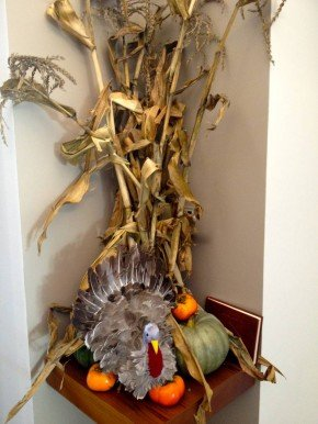 Thanksgiving Decorating… and Puzzle Winner Announced