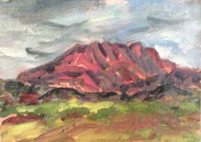 Mont Ste Victoire, by Frances Schultz
