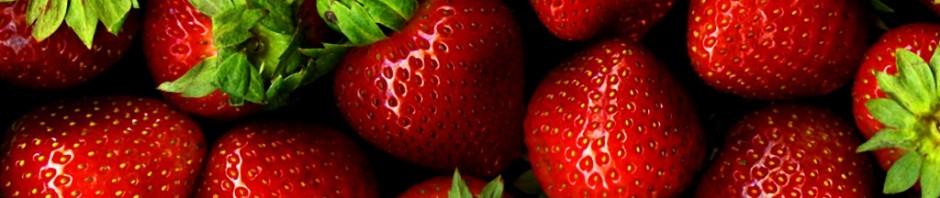 Strawberries, image via WikiMedia