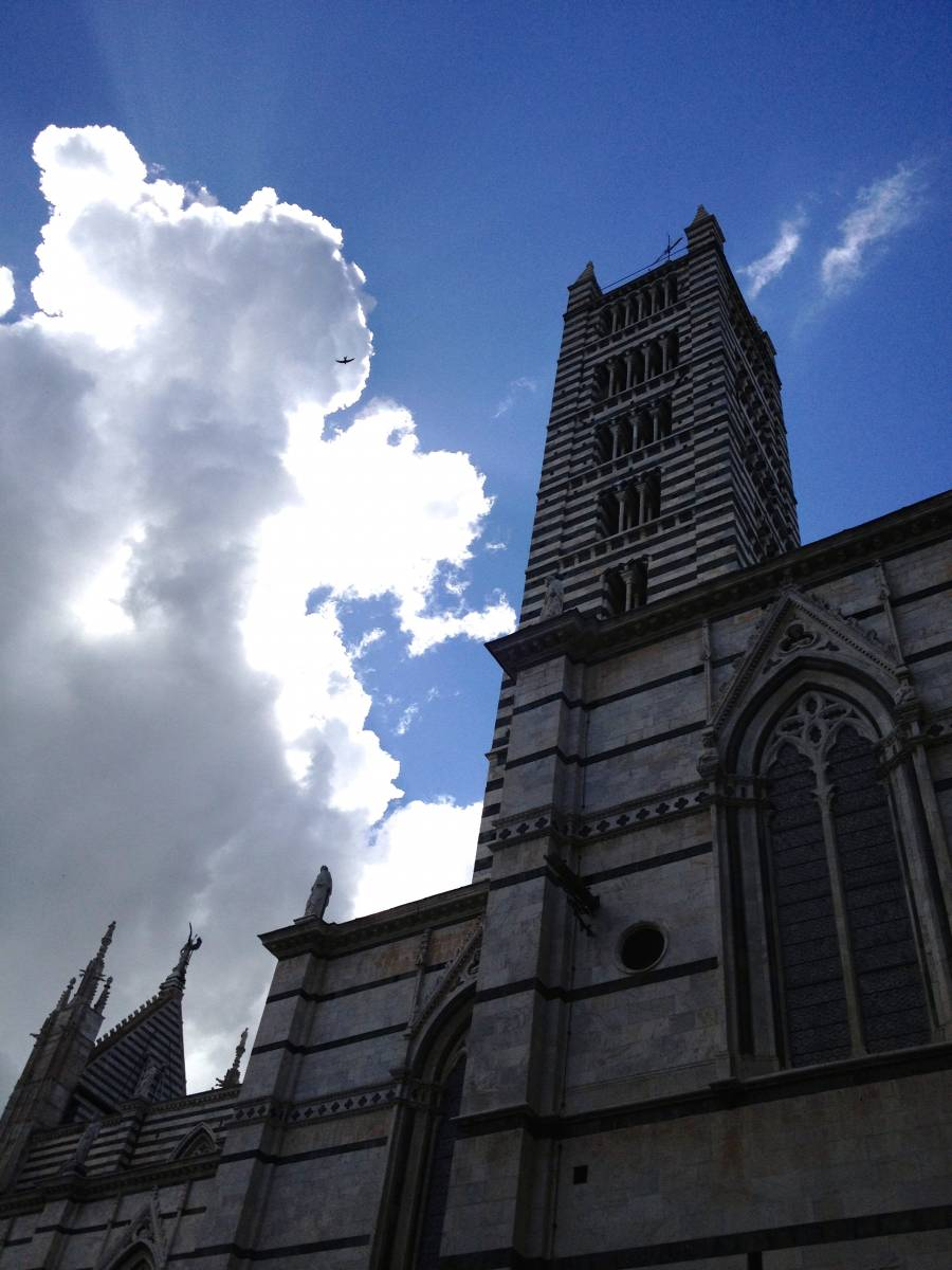 Postcard From Italy No. 3--A Cathedral and a Nap in Siena