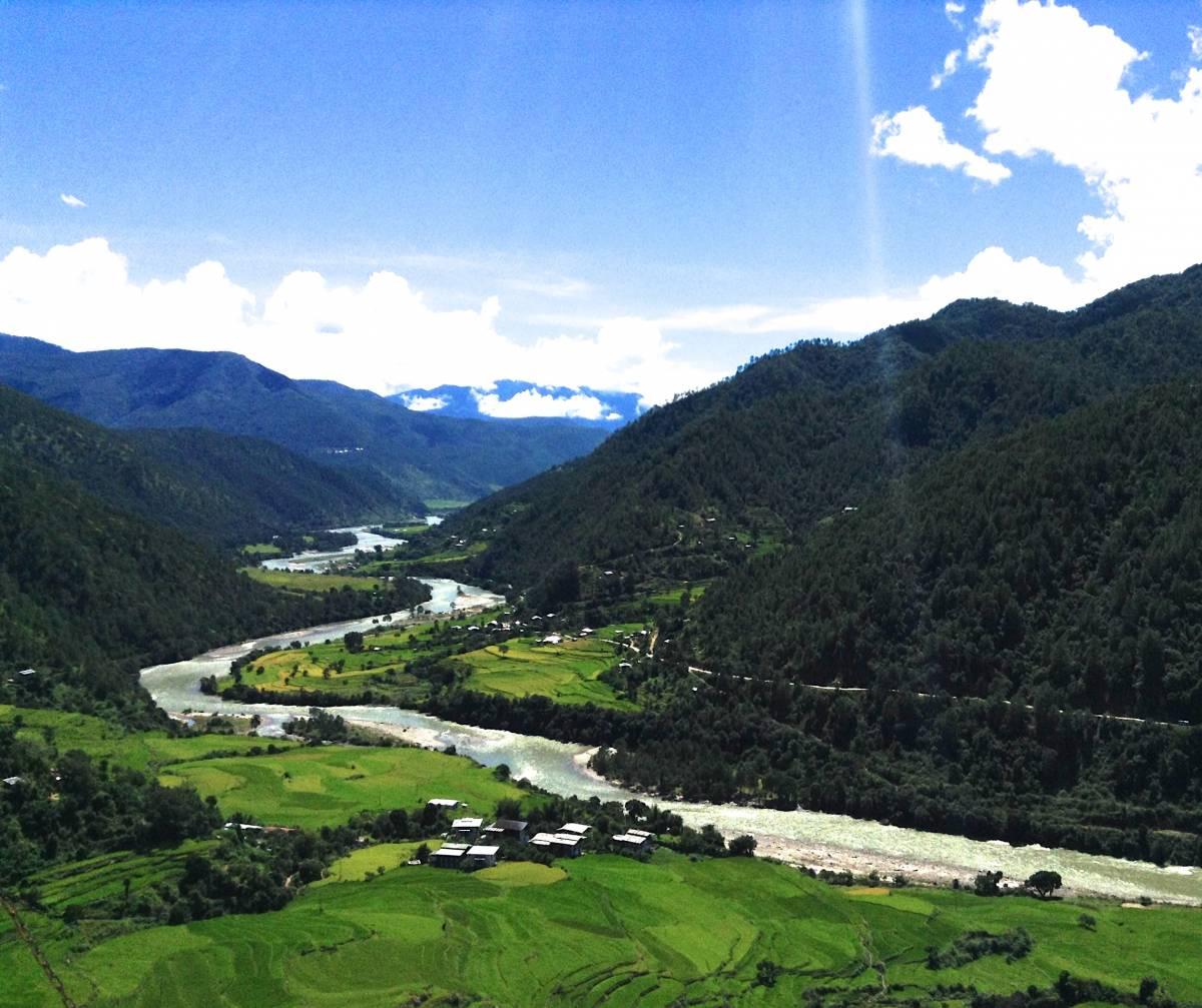 Postcard From Bhutan No. 1