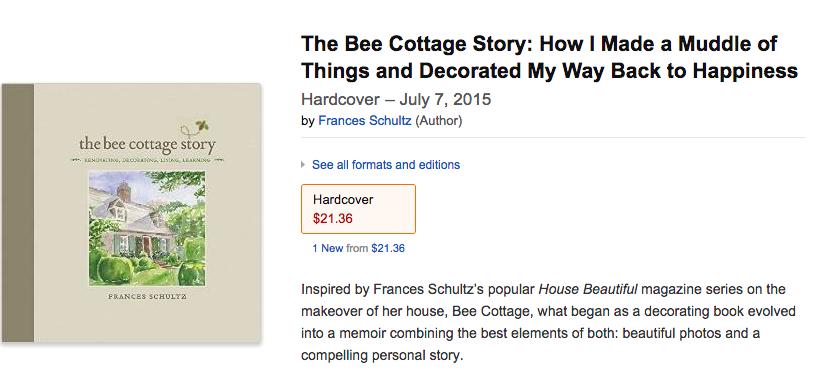 The Bee Cottage Story Is Ready for Pre-Order!
