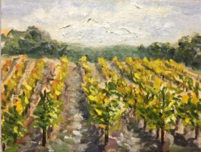 <p>8 x 10, oil on canvas panel, sold, but can do a similar, $325</p>