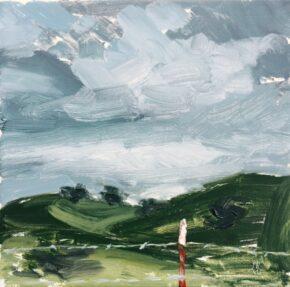 <p>6 x 6, oil on canvas, $150</p>
