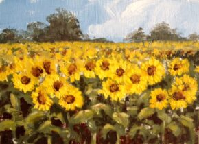 <p>6 x 8, oil on canvas panel, sold but can do similar or larger for your approval, starting at $235</p>