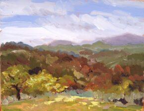 <p>8 x 10, oil on canvas panel, $325</p>