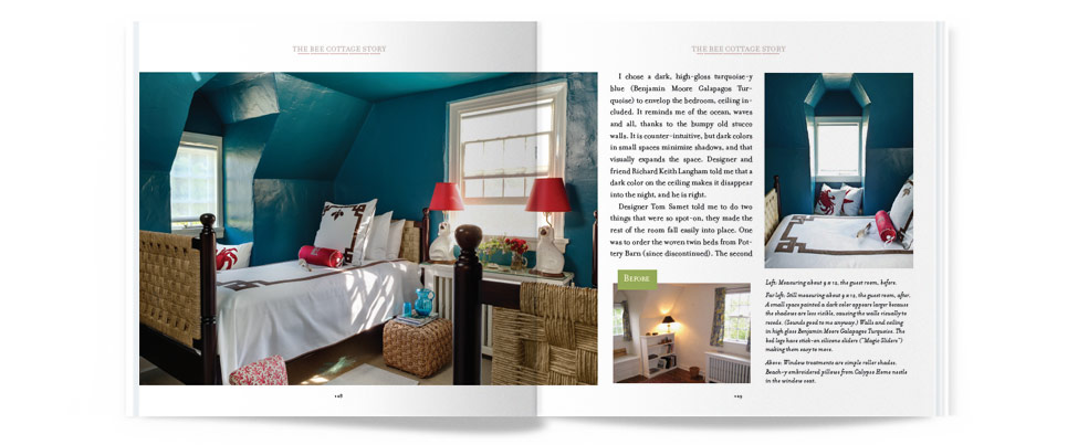 The Bee Cottage Story - Pages 128-129