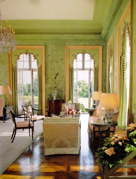 Fabulous Rooms - the Green Room at Winfield House