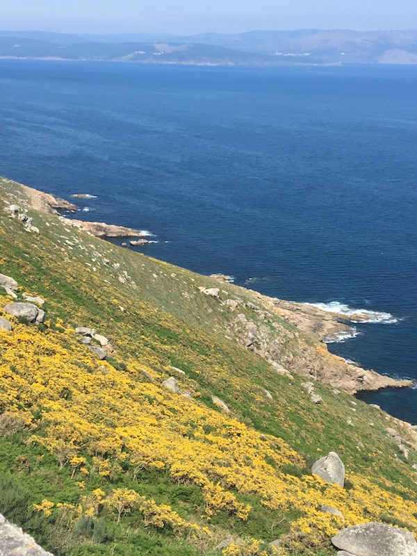 """At Fisterra, """"world's end"""", in Galicia, which the Spanish believe is the western most part of the Continent, although the Portuguese beg to differ. __7526"""