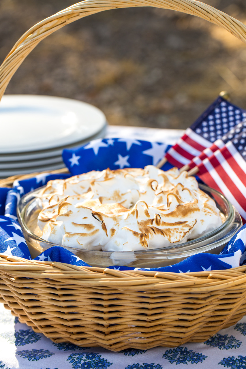 Butterscotch Banana Pudding from California Cooking and Southern Style, by Frances Schultz. Recipes Stephanie Valentine