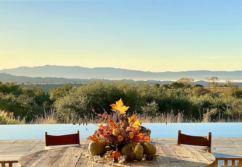 Table at Rancho La Zaca