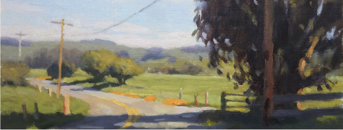 Detail of Chileno Valley Road, by Tim Horn